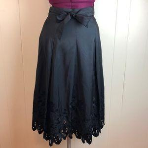 NWT Talbots Silk Taffeta Dressy Party Skirt